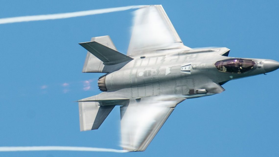 Watch the Air Force's F-35 Demo Team commander break down each of his intense aerial acrobatics
