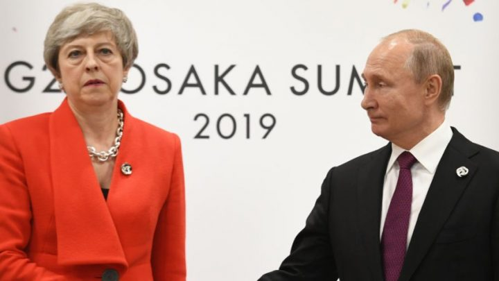Putin says the UK is less 'democratic' than Russia as British voters can't choose their next prime minister