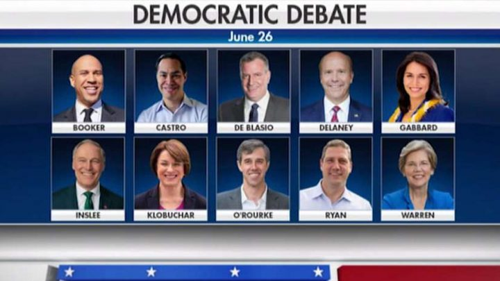 Mary Anne Marsh: Will first Dem debate be a defining moment — or demolition derby?