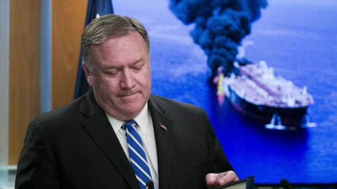 Pompeo tries to drum up support from foreign leaders over Iran's alleged attacks on oil tankers