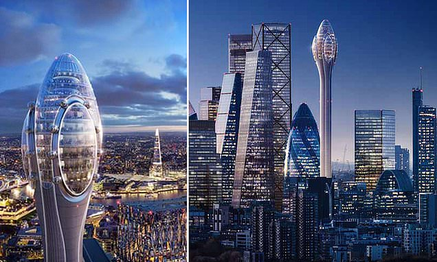 Sadiq Khan throws out plans for controversial 1,000ft Tulip skyscraper