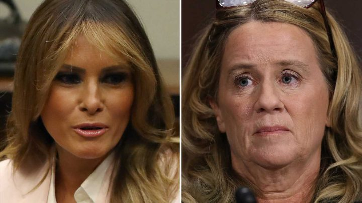 Melania Trump reportedly told Donald that Christine Blasey Ford was 'lying'