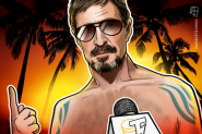 McAfee on BTC, Exile & the US: 'No Way the Current System Can Survive'