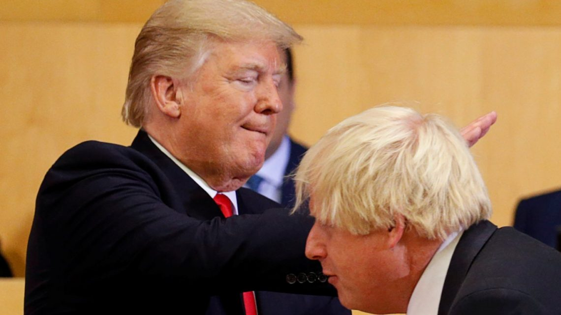 Former ambassador to US says Boris Johnson is a 'paid-up member of the Trump fan club' who risks doing 'great harm' to UK