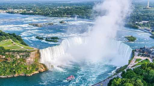 Man alive after plunging over Niagara Falls, exactly 59 years after seven-year-old boy survived fall
