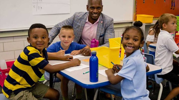 Former Colorado school custodian becomes elementary school principal