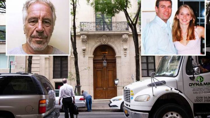 Prince Andrew 'seen at Jeffrey Epstein's mansion getting foot massage by two young women'