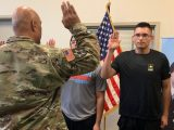 A teen dropped 113 pounds to become first member of his family to join US military