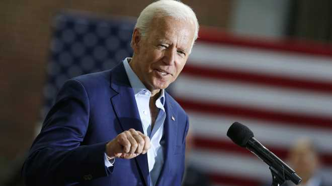 Institutional racism in America is a 'white man's problem,' Biden says