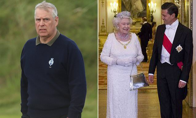 Andrew turned on aide as he couldn't book event at Buckingham Palace