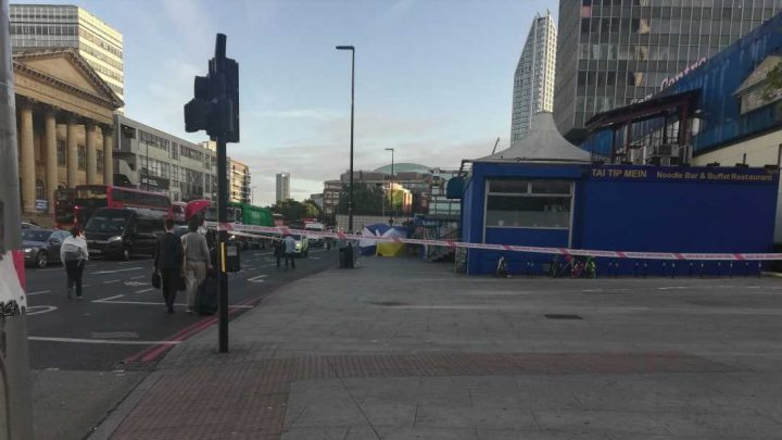 Elephant and Castle stabbing – Man, 24, fighting for life and another, 25, injured after double stabbing at Tube station