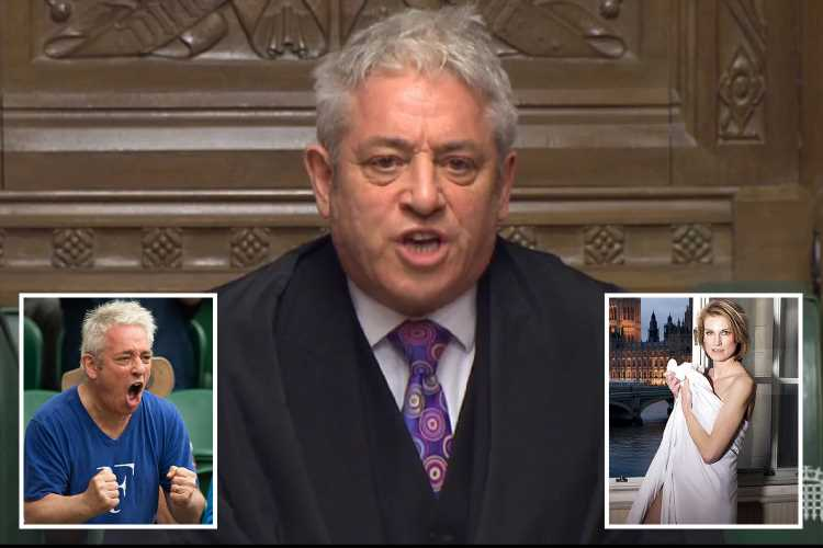 Farewell John Bercow! How the little man with a big ego and an attention-seeking wife discredited the Commons for a decade – The Sun
