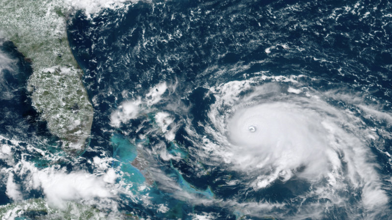 Bahamas residents warned as as Hurricane Dorian bears down