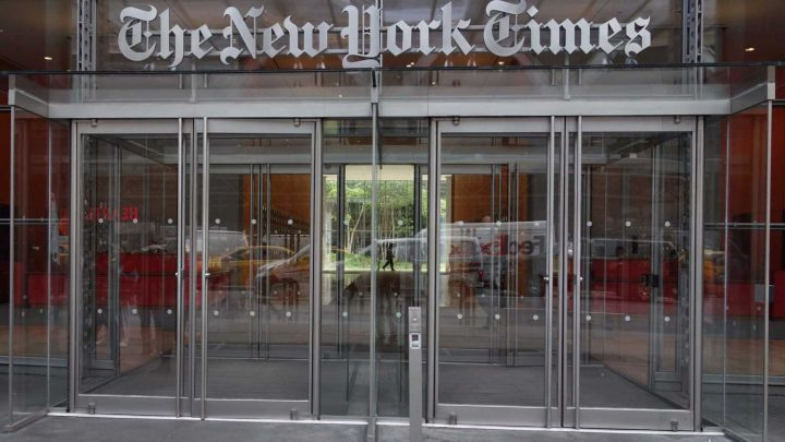 New York Times deletes tweet saying 'airplanes took aim' at towers on 9/11