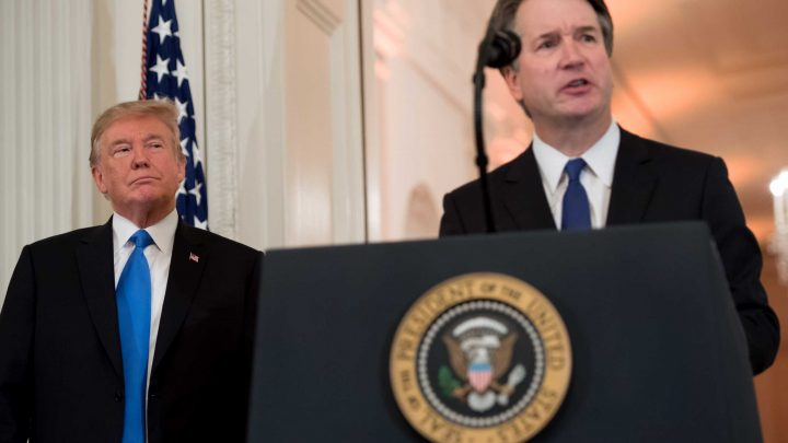 Trump rages after New York Times updates story to say alleged Kavanaugh victim 'does not recall' incident