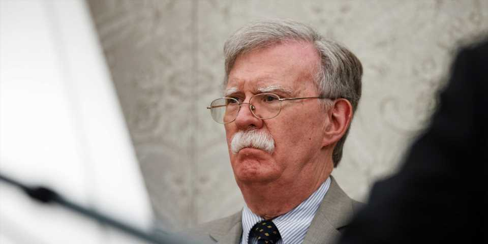 The Internet is blowing up with bewildered reactions and memes about Trump's abrupt firing of National Security Adviser John Bolton