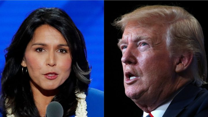 Tulsi Gabbard says Trump is making the US 'Saudi Arabia's b—-' with his response to the oil field attacks