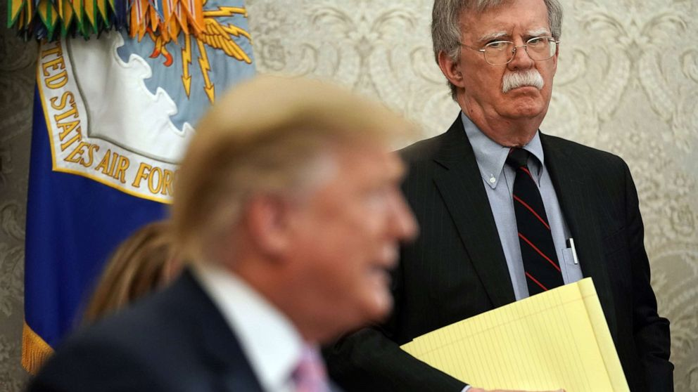 Trump details split with 'Mr. Tough Guy' Bolton and his 'very big mistakes'