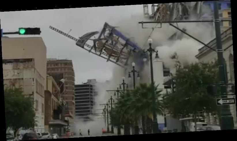 'Thought it was a plane crashing': One dead, 3 missing after New Orleans hotel collapse