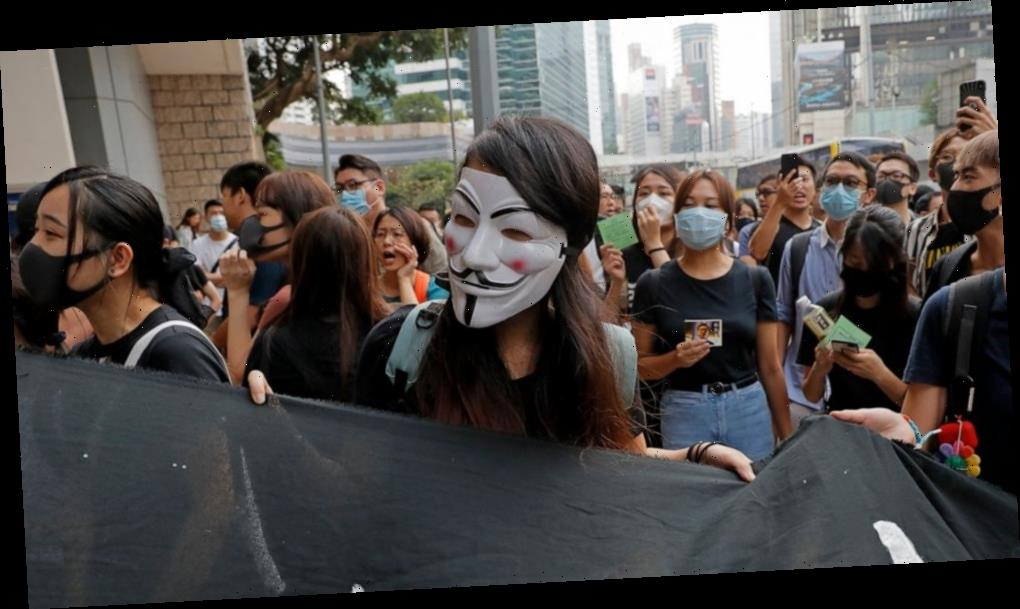 China criticizes Apple for app that tracks Hong Kong police
