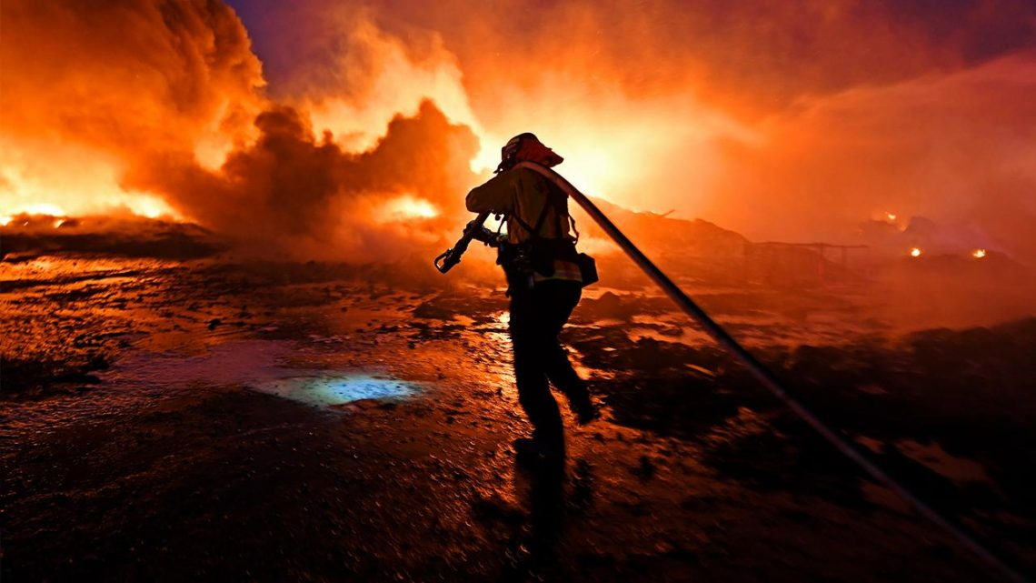 Anger as California as fires, blackouts plunge citizens into the dark ages