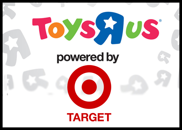 Target Powers Toys R Us' Relaunched Website