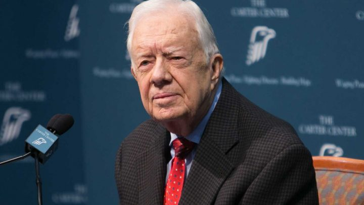 Former President Jimmy Carter, 95, Hospitalized with Bleeding on the Brain