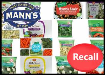 Mann Packaging Recalls Vegetable Products For Listeria Concerns