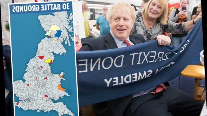 Here's where Brexit tactical voting in Britain's marginals could deliver Boris Johnson his election win