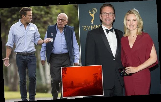 James Murdoch slams his family for promoting climate change deniers