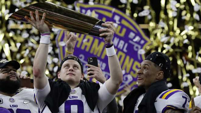 Joe Burrow and LSU beat Clemson 42-25 in the National Championship game