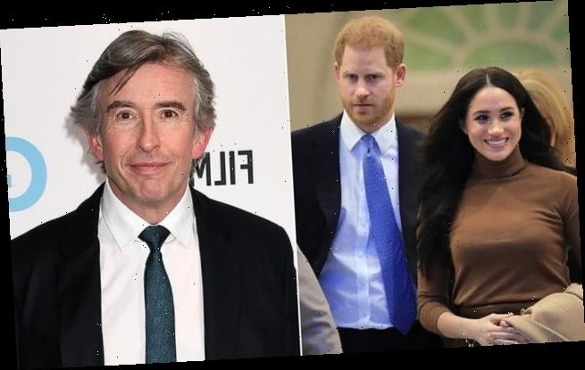 Steve Coogan says he 'understands' why Harry and Meghan fled Britain