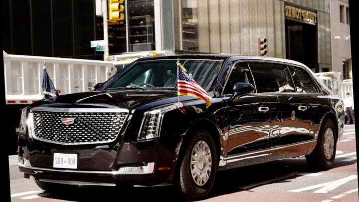 Here's what you need to know about Trump's limo, a.k.a. 'The Beast'