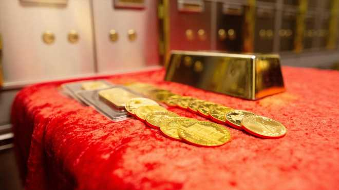 Gold breakout's while the stock market is rising should concern investors