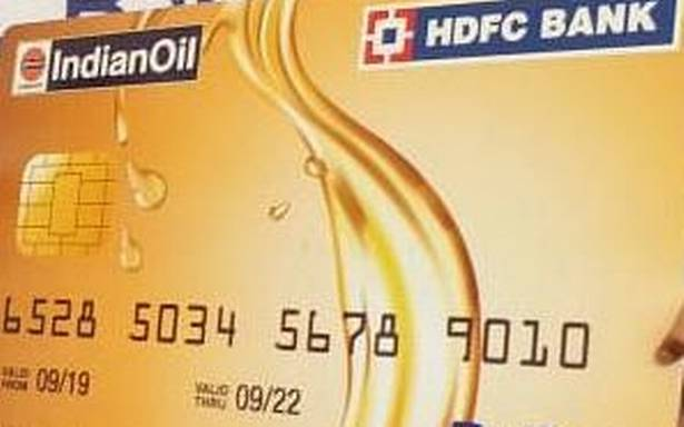 HDFC sees lower credit card spend