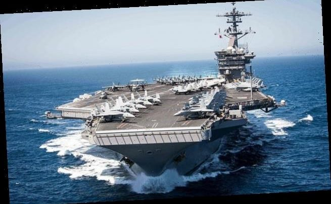 China sends jets by Taiwan as USS Roosevelt is crippled by coronavirus