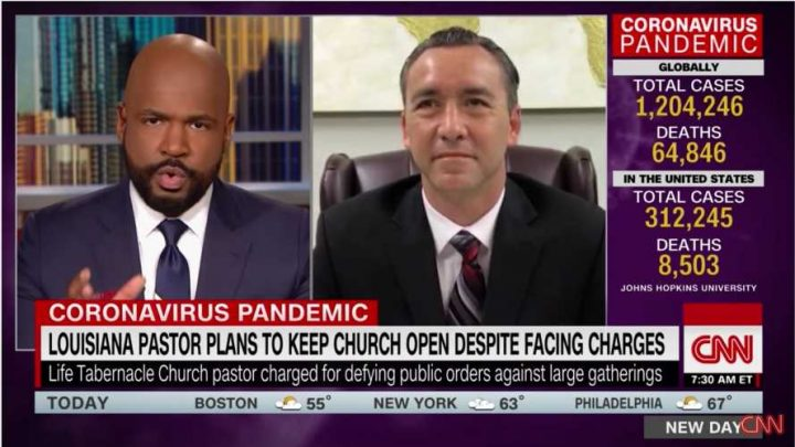 CNN Host To Pastor: How Is It 'Pro-Life' To Pack People Into Church Amid Pandemic?
