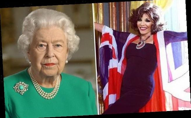 VE Day will be celebrated with Queen message and toast by Joan Collins