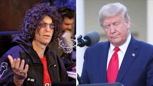 """Howard Stern Says Donald Trump """"Despises"""" MAGA Voters, Thinks President Should Step Down"""