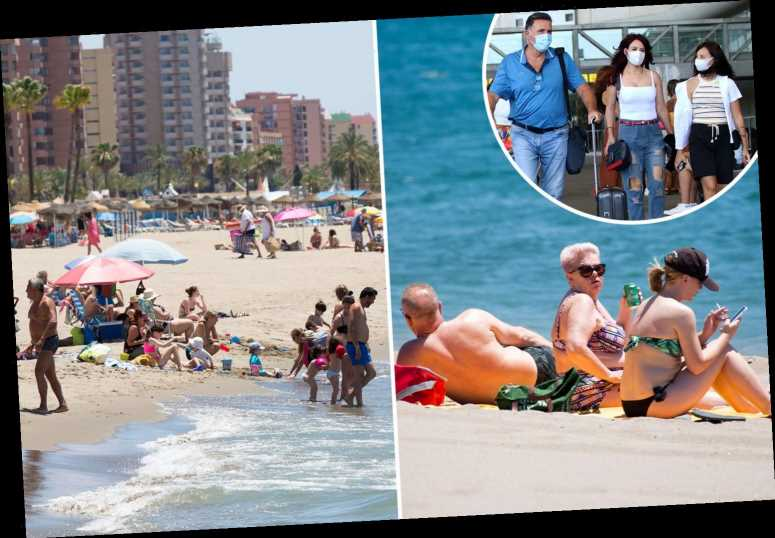 Costa Del Sol coronavirus outbreak getting worse as 96 now struck down with Covid-19 in Malaga just as beaches reopen