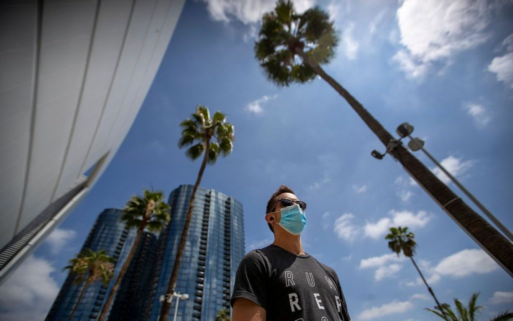 Los Angeles County Coronavirus Sets New Record For Daily Coronavirus Cases As Total Infections Pass 100,000