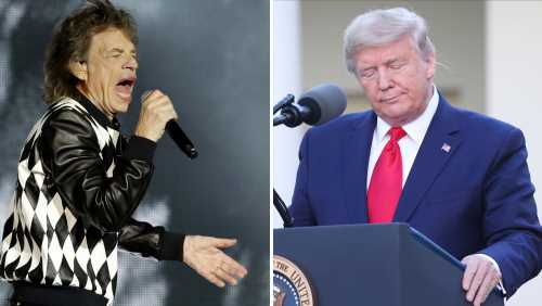ASCAP Says Donald Trump Campaign Can't Use Any Rolling Stones Songs In Its Repertory