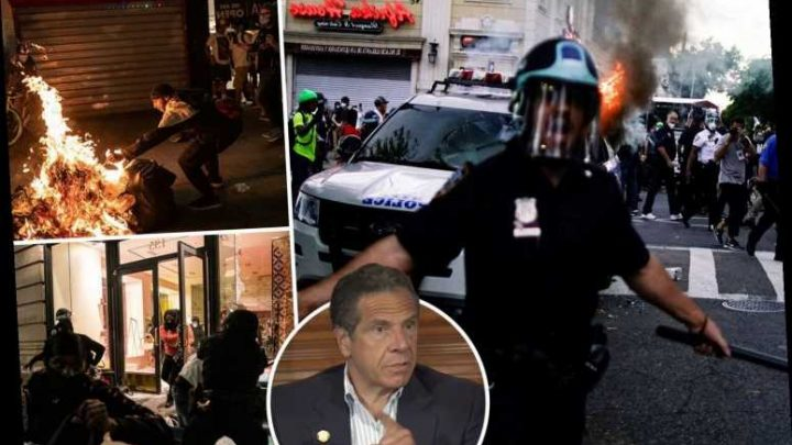 Curfew WILL be imposed on New York City after days of violent George Floyd protests, Gov Cuomo says – The Sun