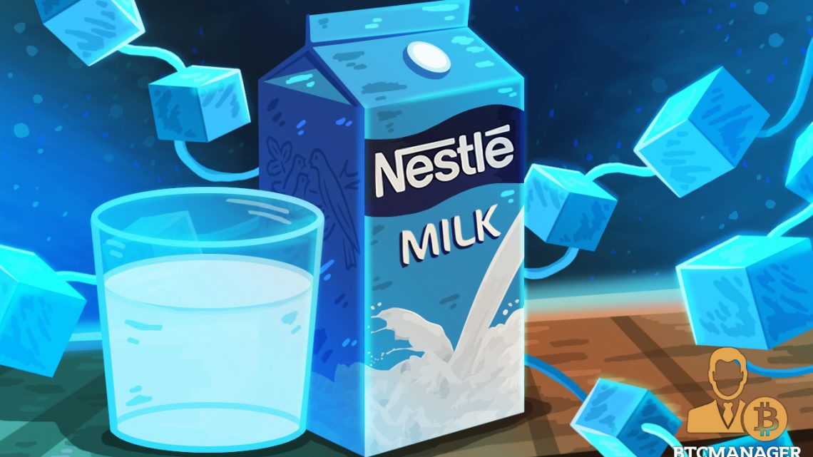 Nestle Fostering Supply Chain Transparency with Blockchain