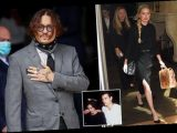 Johnny Depp insists he could not have grabbed Amber Heard by the head