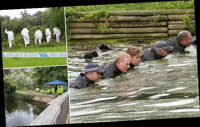 Two boys helped pull bin bags containing human remains from river