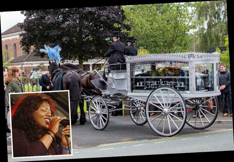 Hundreds line streets for funeral of Primal Scream and New Order singer Denise Johnson who died aged 56