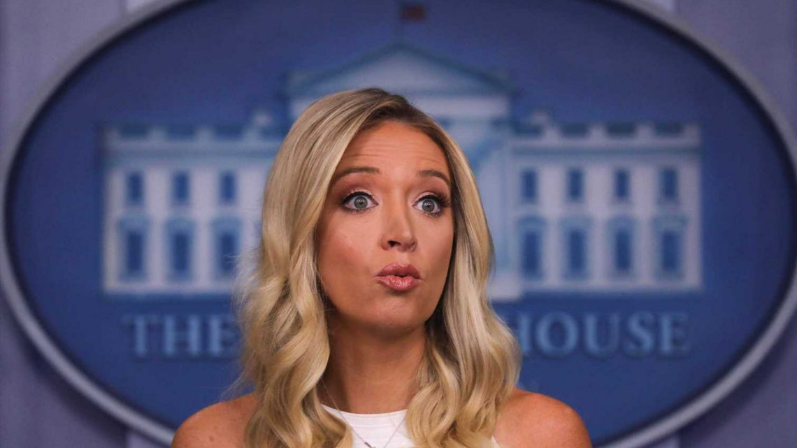 Kayleigh McEnany Says Election Delay Is Undemocratic — In Hong Kong, Anyway