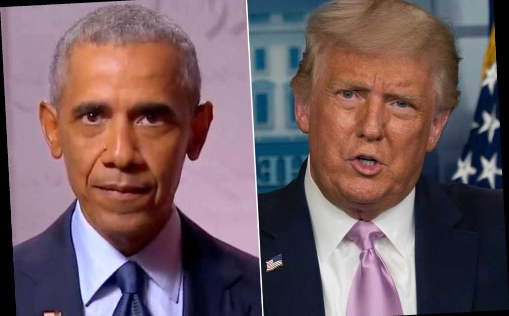 Trump rips Obama's DNC speech on Twitter: 'He spied on my campaign and got caught'