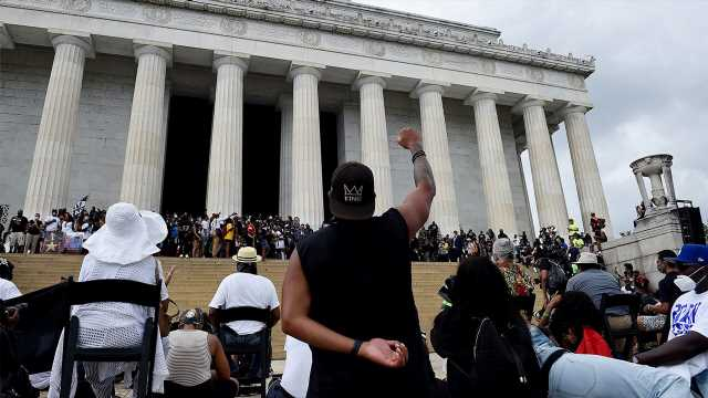 Richard Fowler: March on Washington shows systemic racism continues, as Trump worsens our divisions